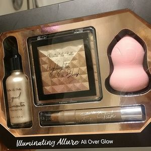 All over glow professional makeup